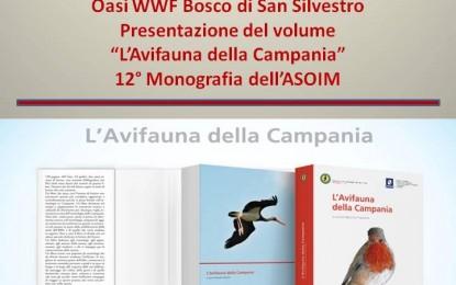 """Presentazione del libro """"L'Avifauna della Campania"""" all'Oasi WWF del Bosco di San Silvestro a Caserta"""