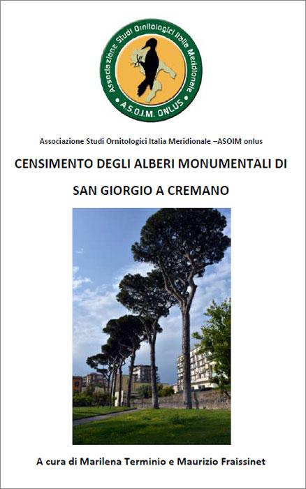 Censimento degli alberi monumentali di San Giorgio a Cremano