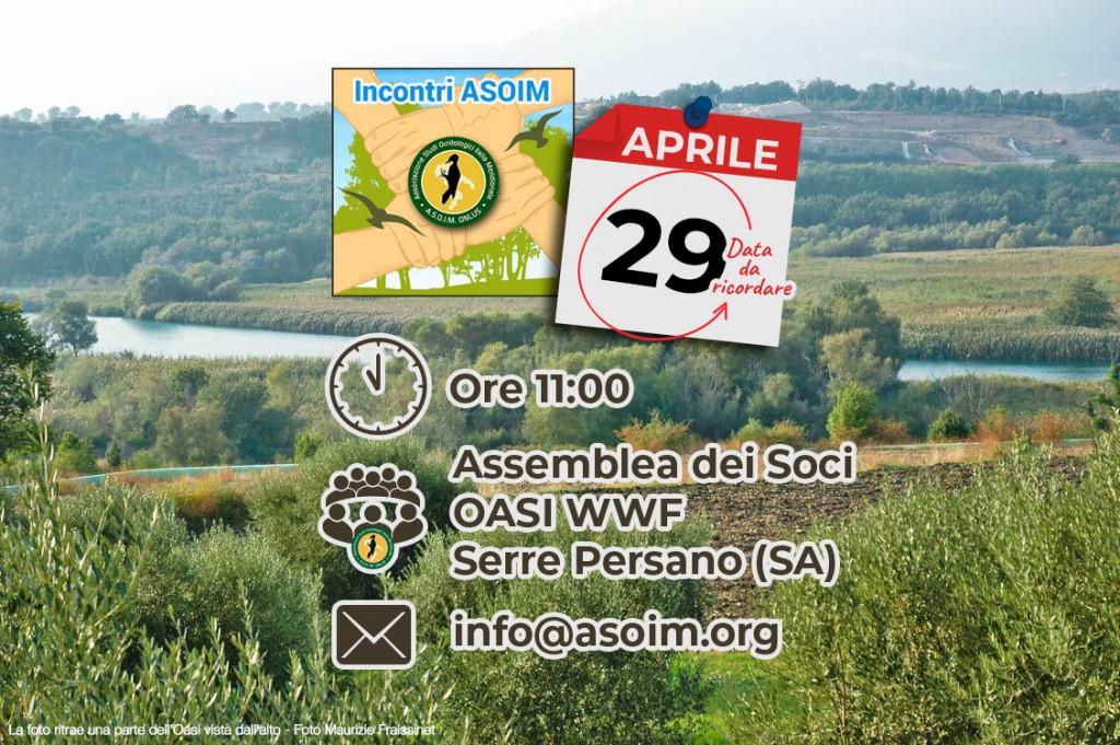 ASOIM_Assemblea_Soci_aprile_2018_Oasi_WWF_Serre_Persano