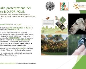 Presentazione dell'opuscolo sulla fauna della RNS di Castel Volturno.